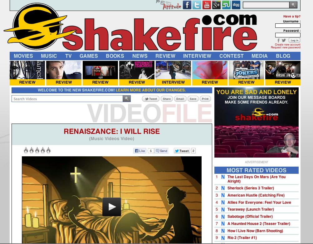 shakefire